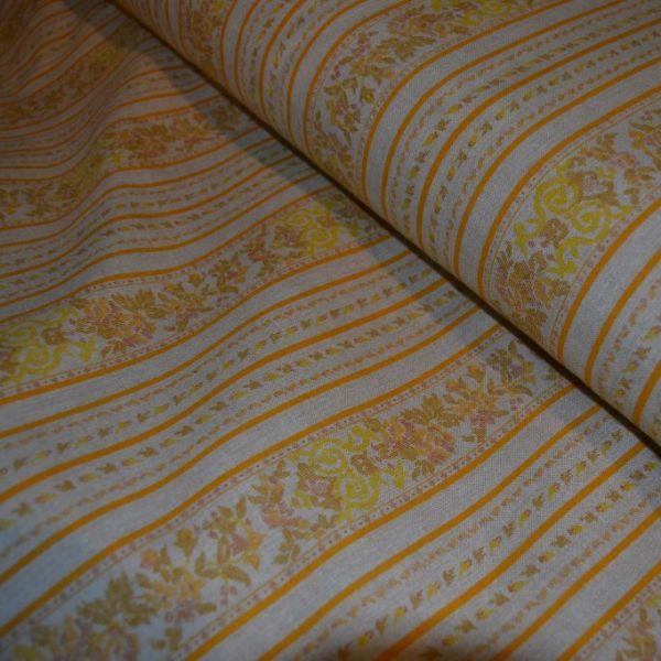 Tessuto Cotone Fantasia Riga Multicolor prezzo al metro 14.85 €