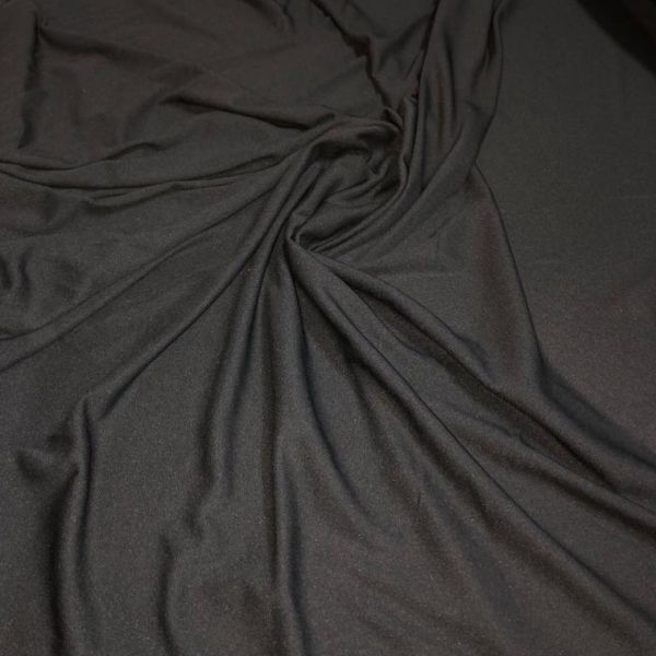 tessuto in stock nero
