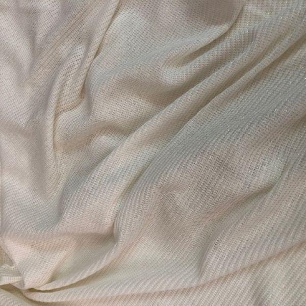 tessuto stock maglia ancora filo lurex