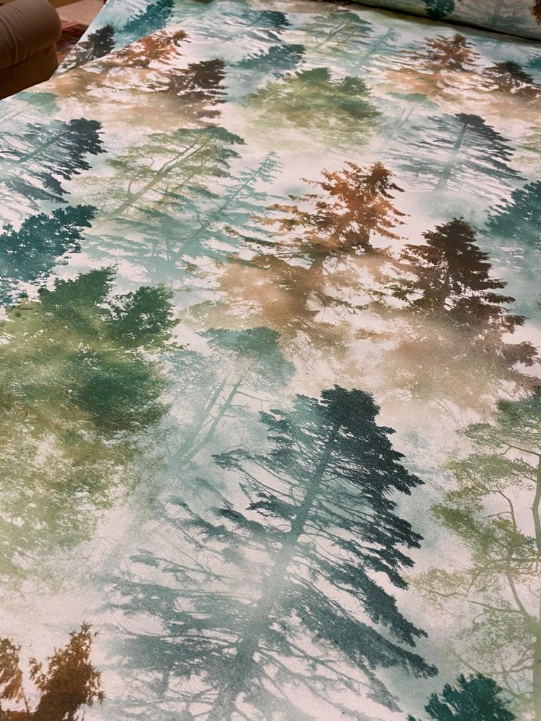 cotone fantasia foresta h280